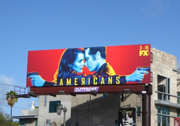 The Americans season 4 billboard
