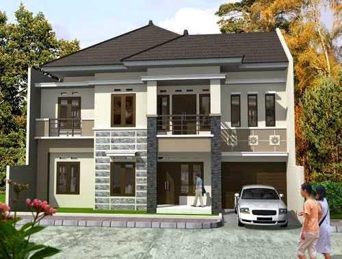 model teras rumah masa kini