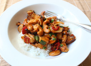 Cashew Chicken – Keeping it Not Real