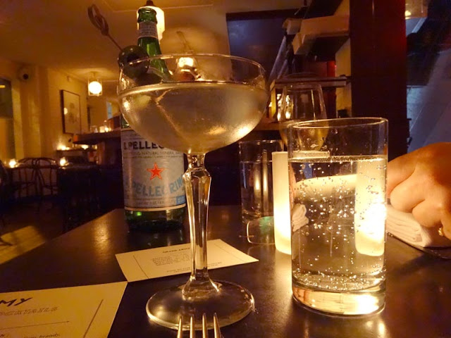 Gin Martini in der Grand Army Bar | pastasciutta in NYC
