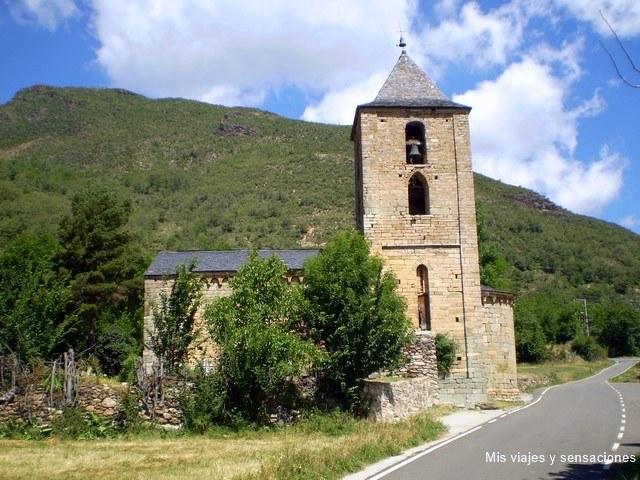 Iglesia de Santa María de Cóll, Vall de Boi, Lleida