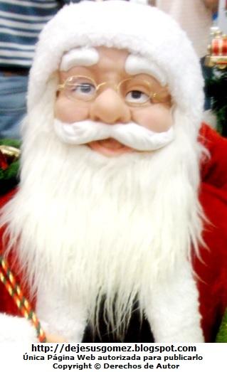 Foto de la cara de Papa Noel por Jesus Gómez