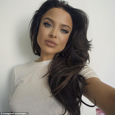 Mara Teigen  looks so much like angelina jolie