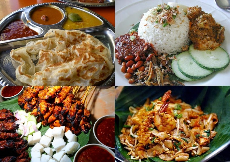 Famous Popular Traditional Malaysian Food
