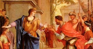 Pues en esta pintura 'escondieron' la barriga de faraón Ptolomeo. ¿Quién dijo que el photoshop era un invento moderno?