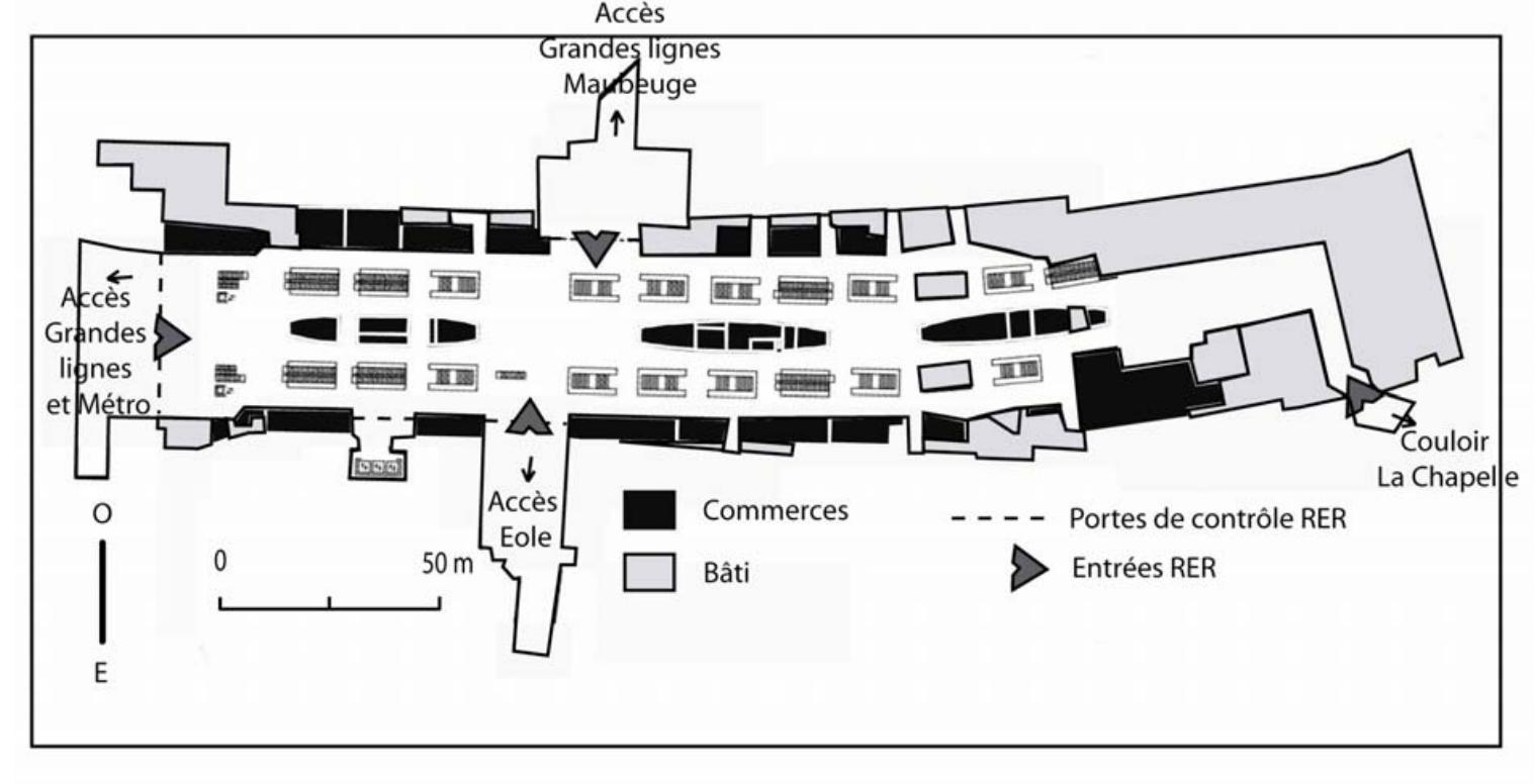 laboratoire urbanisme insurrectionnel gares de paris nouveaux espaces de consommation. Black Bedroom Furniture Sets. Home Design Ideas