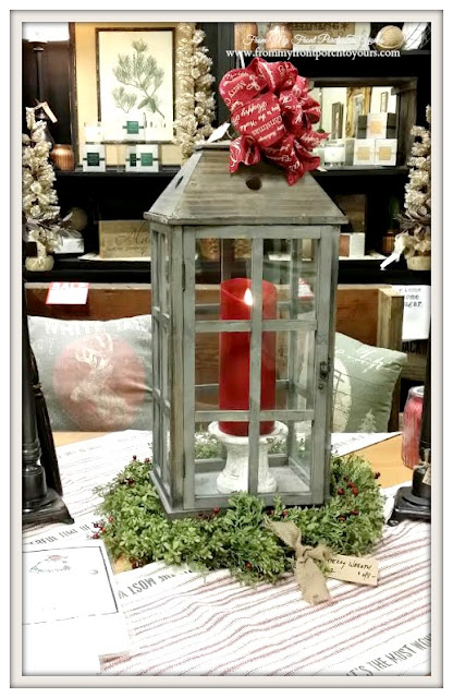Lantern Centerpiece-Georgia-Antique Shopping-The Savvy Shopper- From My Front Porch To Yours