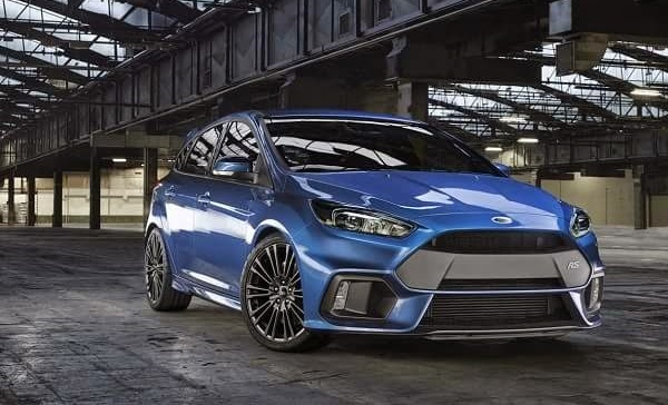 Ficha Técnica Ford Focus RS 2016