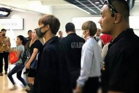 Sampai Di Indonesia BTS Kelelahan