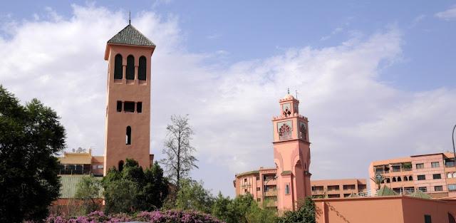 Kościół św. Męczenników (Église des Saints-Martyrs) w Marrakeszu