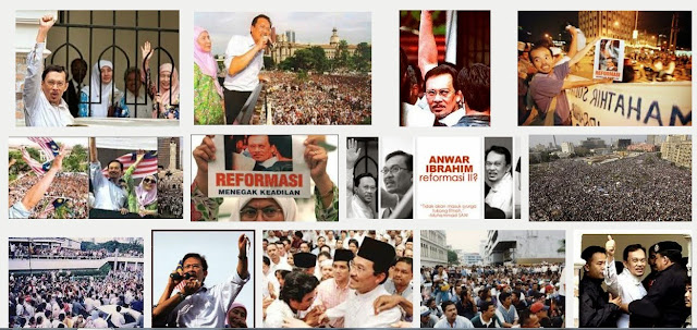 Image result for images of reformasi anwar