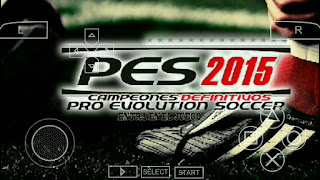 GAME PES 2015 CSO PPSSPP FOR ANDROID 500Mb