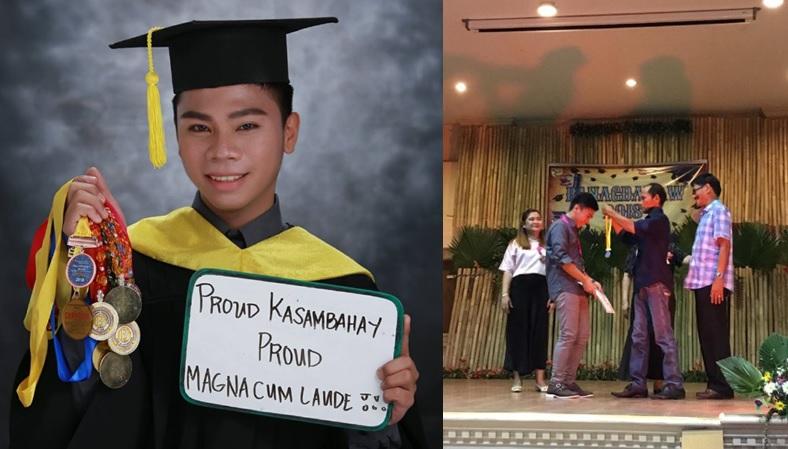 'Kasambahay' proudly graduates as magna cum laude