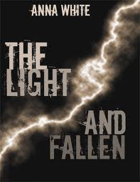 The Light and Fallen by Anna White book cover