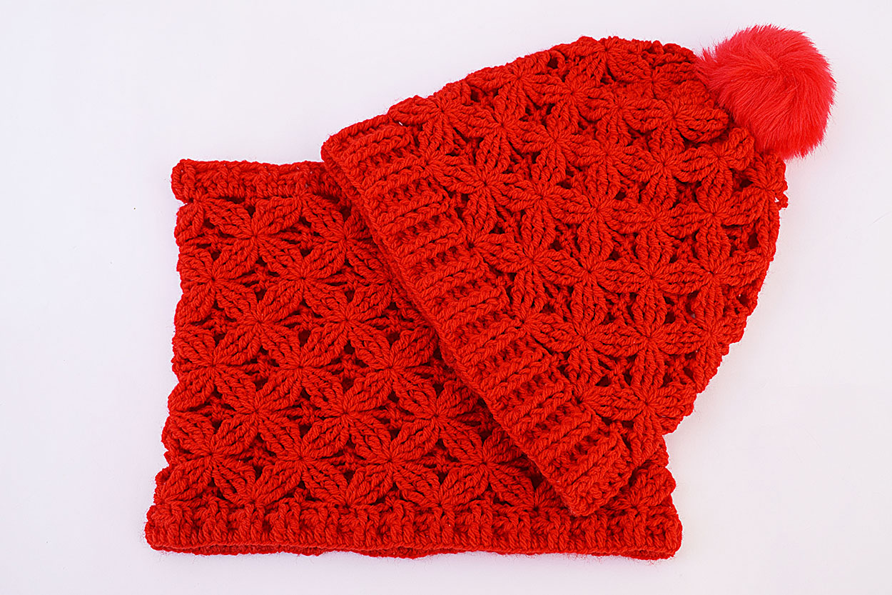bajo precio 412f5 5b484 Gorro y cuello crochet muy fácil y rápido.