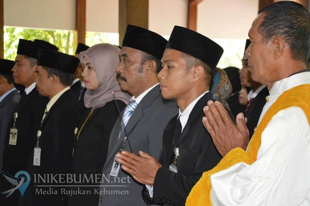 Masih Berstatus Plt Bupati Kebumen, Gus Yazid Baru Bisa Lantik 34 Pejabat Struktural