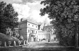 Deepdene, Surrey, the seat of Thomas Hope,  from Select Illustrations of the County of Surrey by GF Prosser (1828)