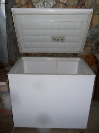 Arca congeladora restaurada