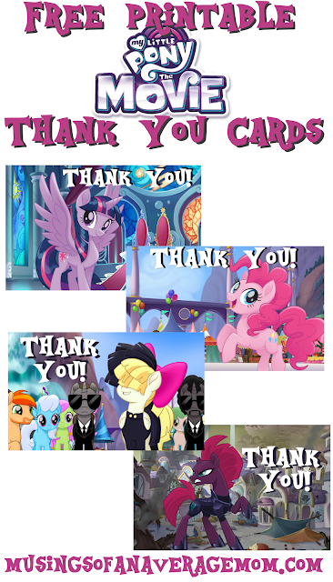 my little pony the movie party printables