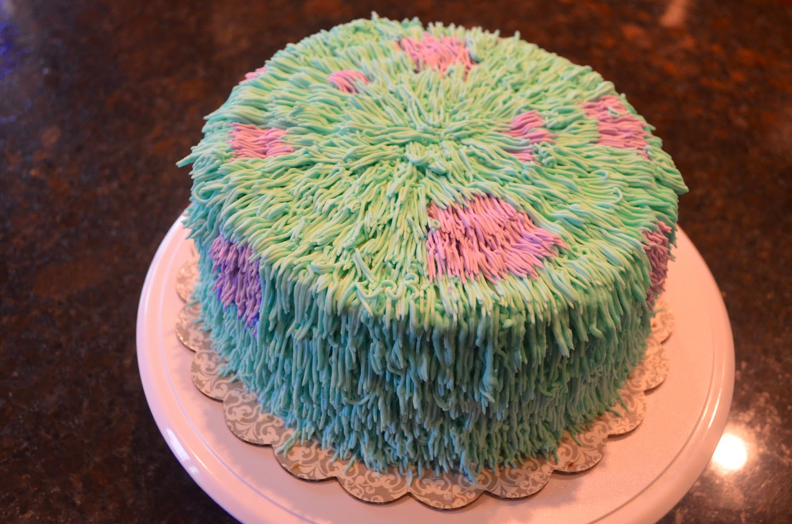 how to make a sully cake