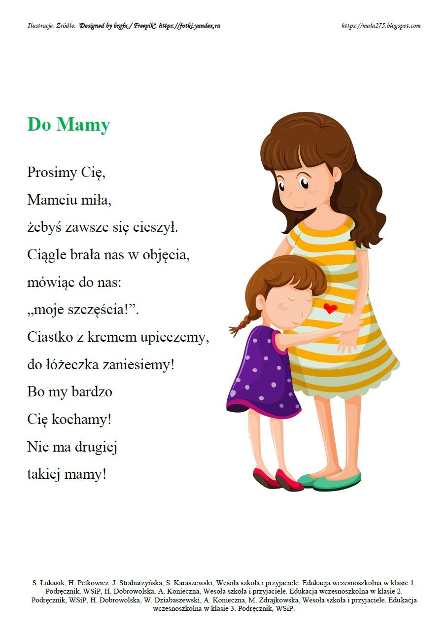 Blog Edukacyjny Dla Dzieci Wiersze