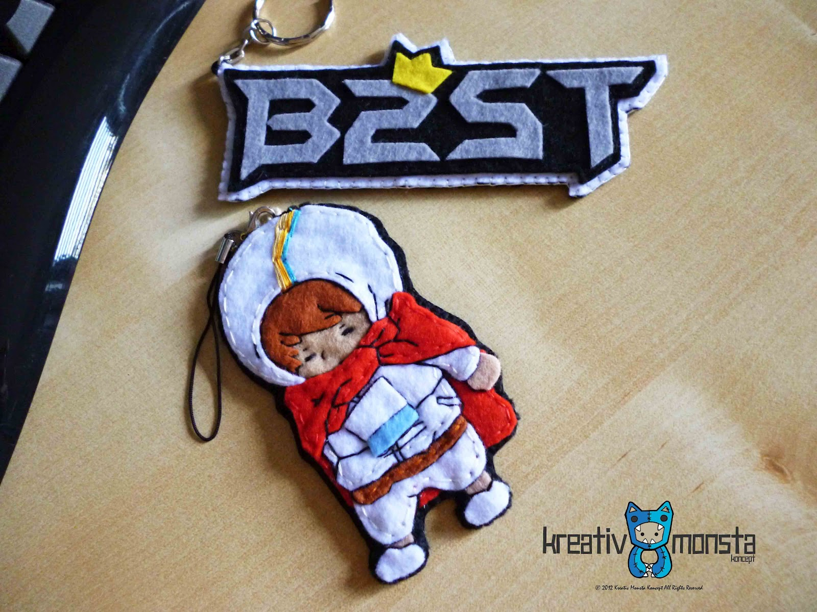 Kreativ.Monsta: B2ST logo & YoSeob chibi
