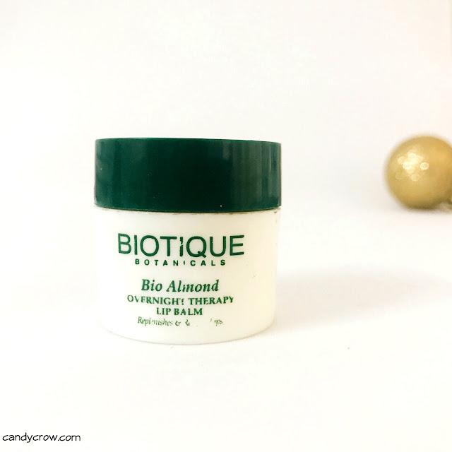 Biotique Bio Almond Lip Therapy Review