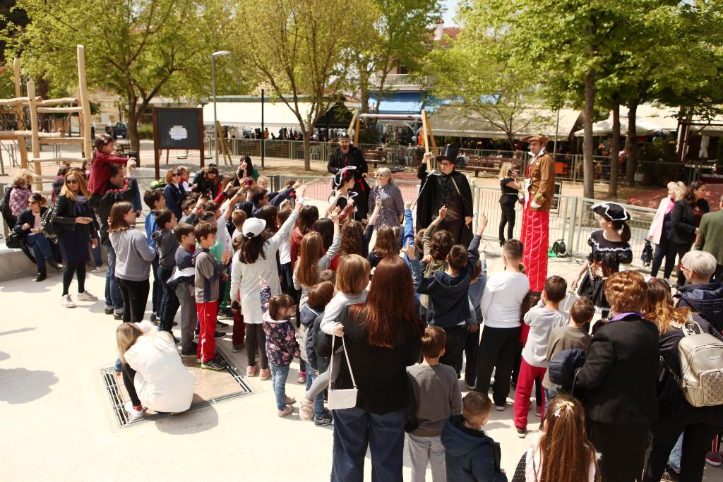 Παραδόθηκε η νέα παιδική χαρά στην πλατεία Αβέρωφ στη Λάρισα (ΦΩΤΟ)