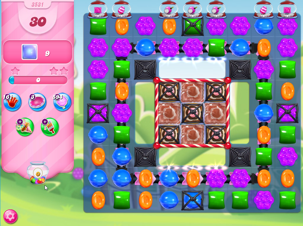 Candy Crush Saga level 3531