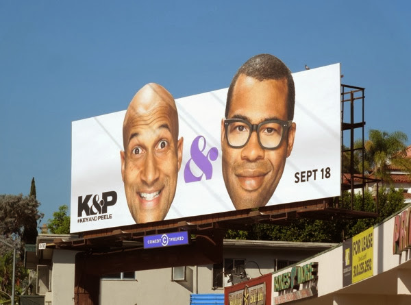 Key & Peele season 3 billboard
