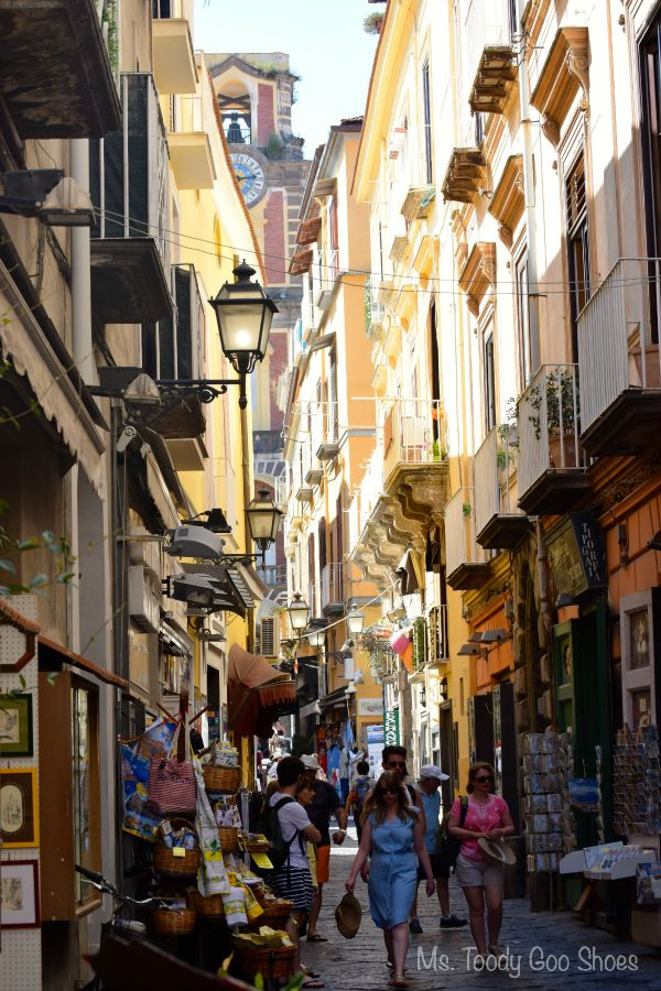 Sorrento, Italy: Our Travel Journal  Ms. Toody Goo Shoes