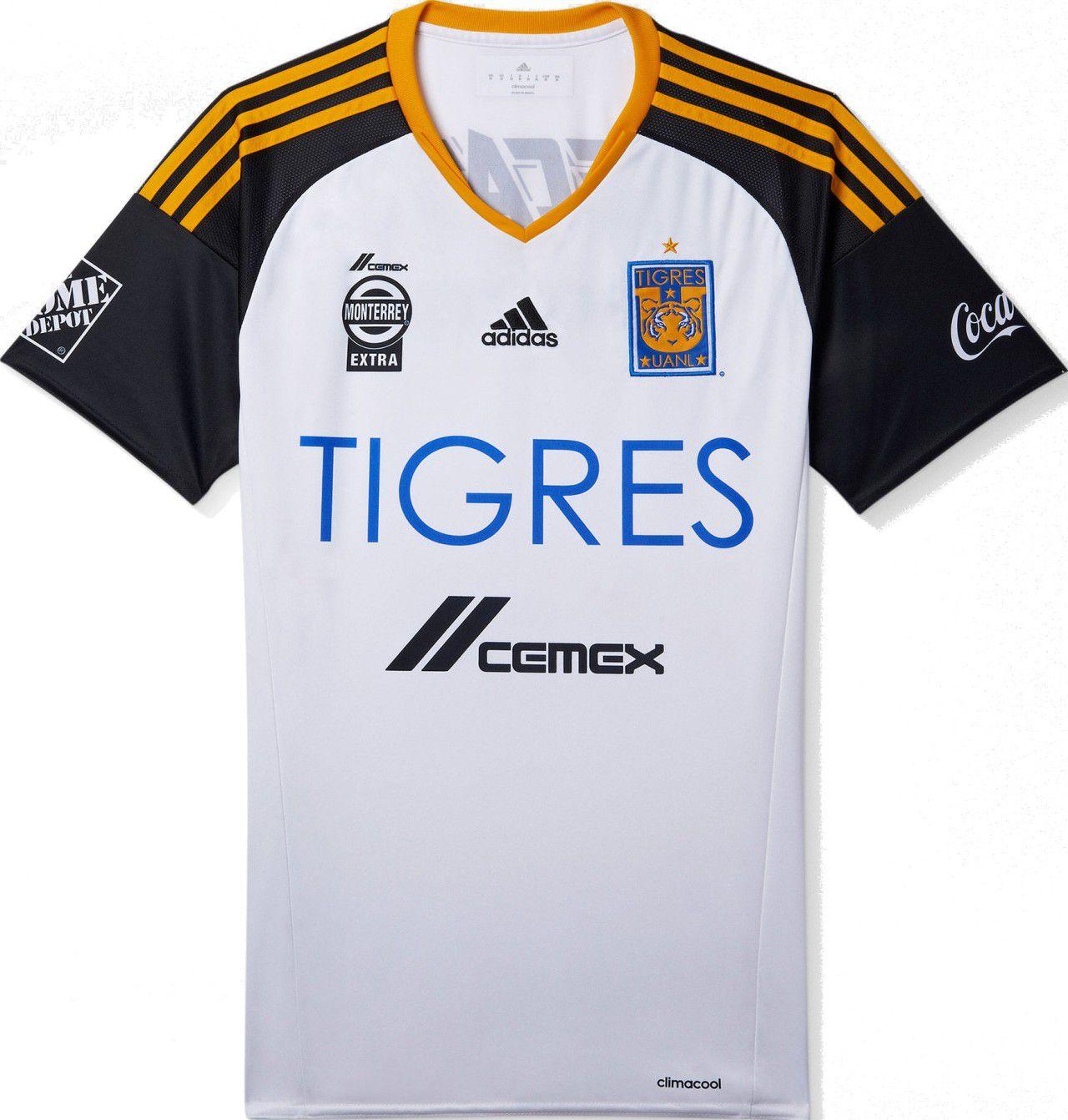 b89685508aa2e Adidas lança nova terceira camisa do Tigres UANL do México - Show de ...