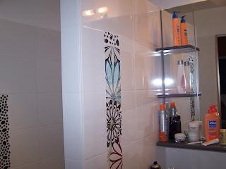 Pose de carreaux salle de bains Philipro carreleur Mazières-en-Gâtine