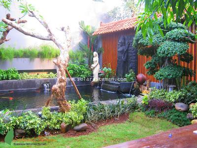 Tukang Taman Surabaya | Jasa Pembuatan Taman Surabaya