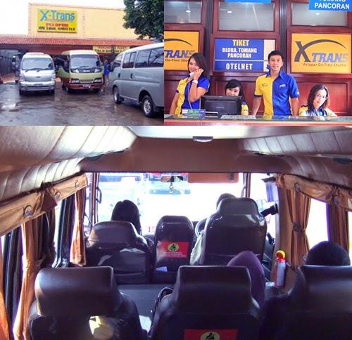 Alamat dan Kontak Travel X-Trans dari Bandung ke Jakarta
