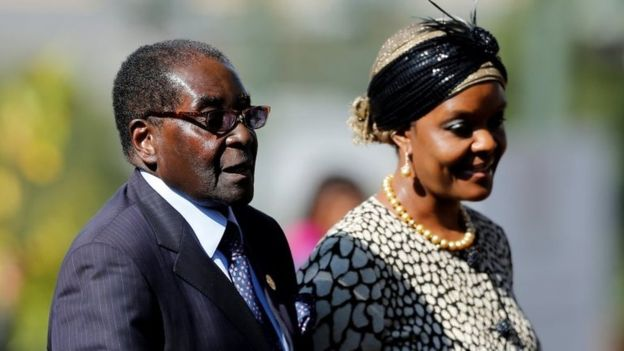 Zimbabwe's ruling party sacks Robert Mugabe as leader