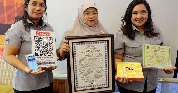 Seritifikat dari HokBen Restoran Halal coy