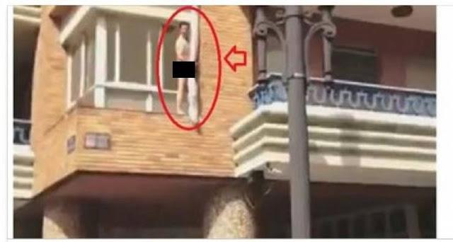 وأخيراً..هكذا كانت نهاية الشاب الذي وقف عارياً على شرفة منزله برمضان و فعل أشياء مخلة بالأخلاق!