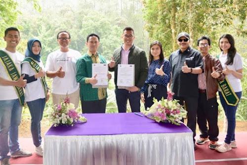 Kerjasama Kemenpar dan Orchid Forest Lembang