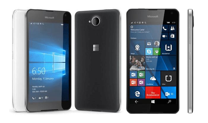 Spesifikasi Lengkap Microsoft Lumia 650