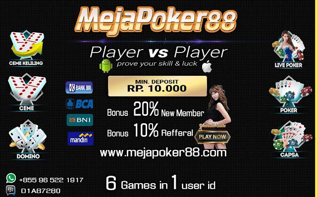 http://www.mejapoker88.info/2018/06/mejapoker88.html