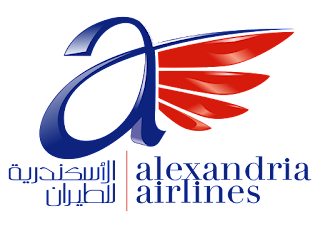 Alexandria airlines Logo Vector