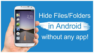 How To Completely Hide Files In Your Android Phone In 2mins Using A .nomedia File