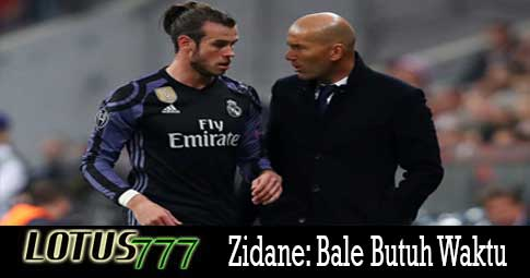 Zidane: Bale Butuh Waktu