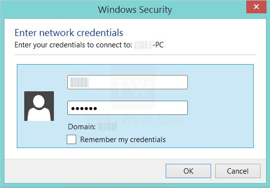 Escapades with Windows: ERROR: ENTER NETWORK CREDENTIALS