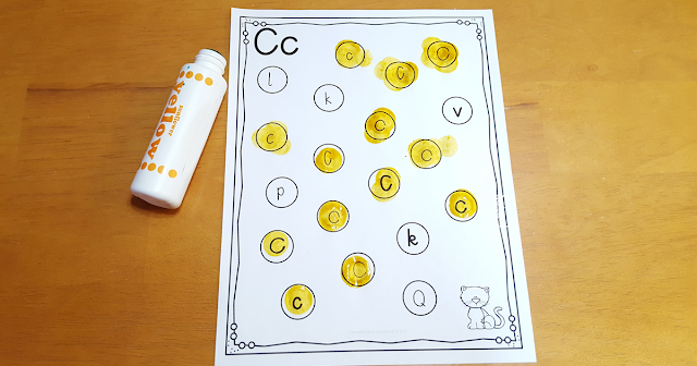 Letter C Activities that would be perfect for preschool or kindergarten. Sensory, art, fine motor, literacy and alphabet practice all rolled into Letter C fun.