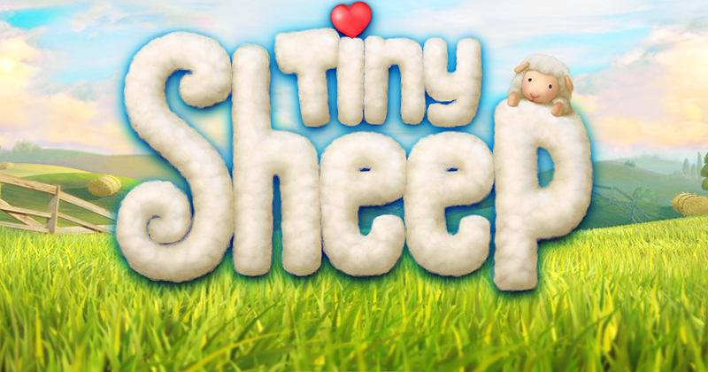 紫蘇柚子: [i pad遊戲] Tiny Sheep - 大家一起來養羊吧!