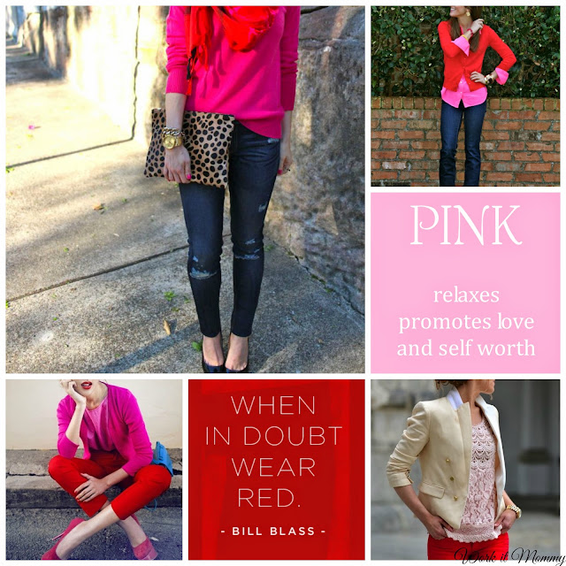 Red and pink outfit ideas