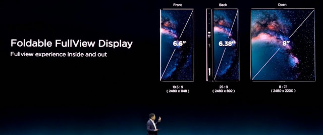 Huawei Mate X 8 pulgadas