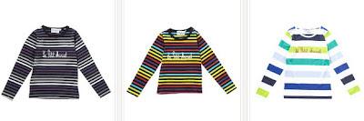 camisetas unisex infantiles